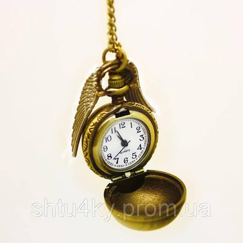 """Часы """"Золотой снитч"""" Гарри Поттер - купить по лучшей цене ..."""