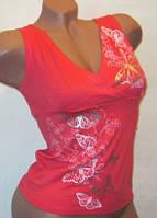 Майка женская летняя розовая 42-46