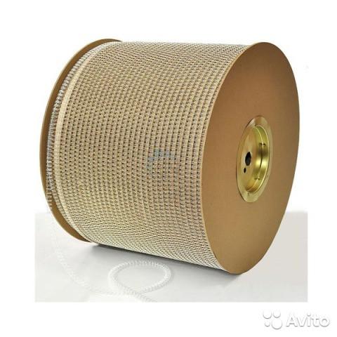 Металлическая пружина в бобине 9,5 мм. шаг 3:1, белая, ручной обжим, 42 000 колец автоматический