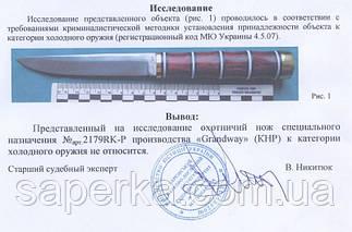 Нож охотничий Grand Way 2179 RKP, фото 2