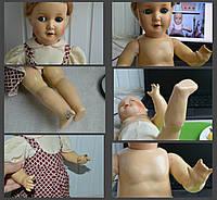 Реставрация немецкой  куклы (König&Wernike)