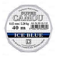 PDF-32-15-108 Леска зимняя SUPER CAMOU Ice Blue 0.08 mm 40m