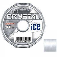 Волосінь зимова CRYSTAL Nano ICE 0.10 mm 40m
