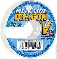 PDF-34-15-014 Леска зимняя DRAGON V Ice Line 0.14mm 40m