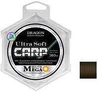 Волосінь MEGA BAITS UltraSoft CARP 300m/MOMOI 0.40 mm
