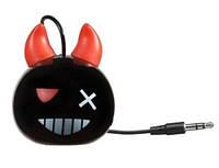 Портативная колонка MyVibe Devil для ноут.,ПК, телеф. и планш. (встроенный аккумулятор) black