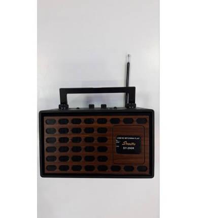 Радиоприемник цифровой всеволновой переносной SY-290R бумбокс портативный, фото 2
