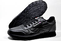 Мужские кроссовки Reebok Classic Leather, Black