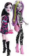 Набор кукол Монстер Хай Моаника  и Дракулаура Monster High Welcome to Monster High Monstrous Rivals