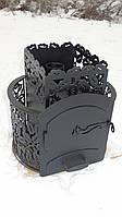 """Дровяная печь для бани,сауны """"Каменка"""" модель №2 (без выноса, без стекла)"""