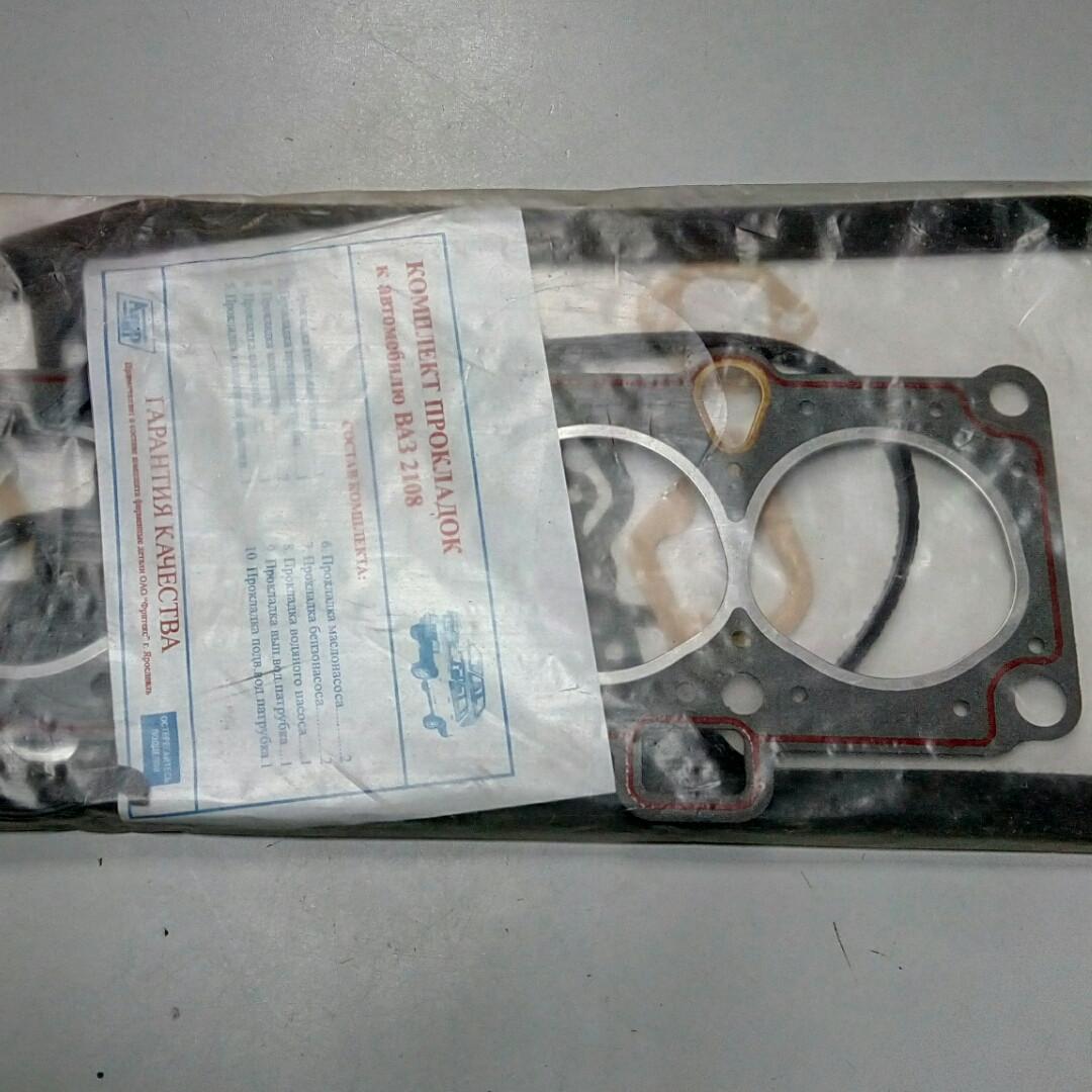 Прокладки двигателя ВАЗ-2108 D 76