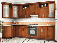 Кухня Угловая из ДСП Дуб , фото 1