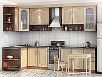 Кухня Угловая из ДСП Яблоко локарно , фото 1
