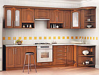 Кухня Угловая из ДСП Орех