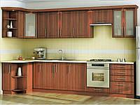 Кухня кутова з ДСП темне Яблуко, фото 1