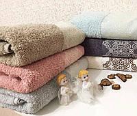 Банное махровое полотенце 70 х140 см, Cotton area, Турция (6шт/1уп)