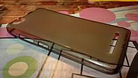 Чехол для Lenovo Vibe C A2020 темно-серый