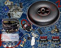 Комплект Stag-300 isa2 6 цилиндров, редуктор Artic, форсунки Valtek, фильтр. Баллон тороидальный 52л + Мульт