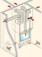 Дистрибьютор для распространения теплого воздуха