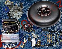 Комплект Stag-300 isa2 6 цилиндров, редуктор Artic, форсунки Hana, фильтр. Баллон тороидальный 52л + Мульт