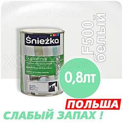 Sniezka SUPERMAL Белая F500 Без Запаха масляно-фталевая 0,8лт