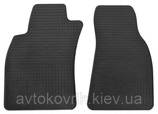 Резиновые передние коврики в салон Audi A6 (C6) 2004-2011 (STINGRAY)