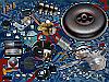 Комплект Stag-4 Qbox basic, Редуктор Alaska, Форсунки Hana, Фильтр, Баллон тороидальный 42 л. + Мульт
