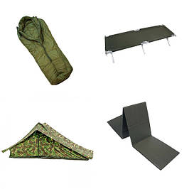 Кемпинг (спальники, карематы, раскладушки, тенты, палатки)