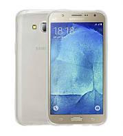 Силиконовый чехол 0,33 мм для Samsung G532F Galaxy J2 Prime (2016) прозрачный