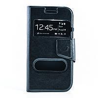 Чехол (книжка) с окошком для Samsung J105H Galaxy J1 Mini / Galaxy J1 Nxt  черный