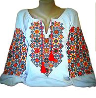 """Вишита жіноча блузка """"Маріл"""" (Вышитая женская блузка """"Марил"""") BK-0077"""