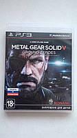 Видео игра Metal Gear Solid 5: ground zeroes (PS3) pyc.