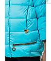 Модная осенняя курточка на девочку Юля с отстежным довязом на рукаве Размеры 122-152, фото 4