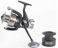 Катушка с байтранером BratFishing Fighter 4000 Baitrunner (4+1)