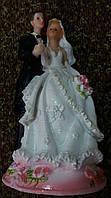 Свадебная статуэтка на торт 18 см (32) белая