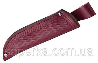 Нож многоцелевой с больстером из натурального рога Grand Way 2566 EWP, фото 2