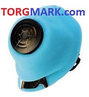 Респиратор У 2К  голубой (без клеёнки, медицинская фильтроткань)