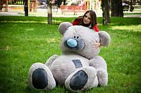 Самый большой плюшевый мишка ВЕЛИКАН размер 2,5м ТМ My Best Friend (Украина)  много расцветок серый