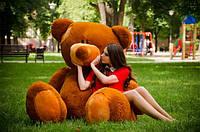 Самый большой плюшевый мишка ВЕЛИКАН размер 2,5м ТМ My Best Friend (Украина)  много расцветок коричневый
