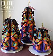 Большой набор свечей, ручная работа, расцветка от Elite Candles