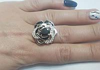 Серебряное женское кольцо Бурбон