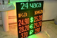 Щит обмена валют (двухсторонний, 3 валюты), фото 1