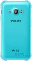 Задняя часть корпуса (крышка аккумулятора) Samsung J110H Galaxy J1 Ace Duos Original Blue