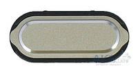 Кнопка Samsung A300F Galaxy A3 / A500F Galaxy A5 / A700F Galaxy A7 меню (Home) Gold