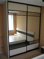 Двухдверный Шкаф-купе для спальни, фото 1