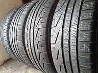 Зимние шины б/у 225/55 R17 Pirelli 4шт.