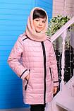 Куртка и хомут демисезонная Маргарита для девочки. , фото 4