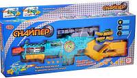 Игрушечный автомат Снайпер Play Smart 7444
