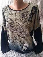 Турецкая  кофта с розами