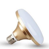 LM726 Лампа Lemanso св-ая НЛО 12W E27 720LM золото 85-265V